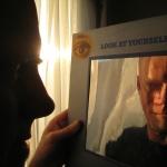self-portrait with Uriah Heep