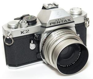 Pentax K2, 1975 [Courtesy of Camerapedia]
