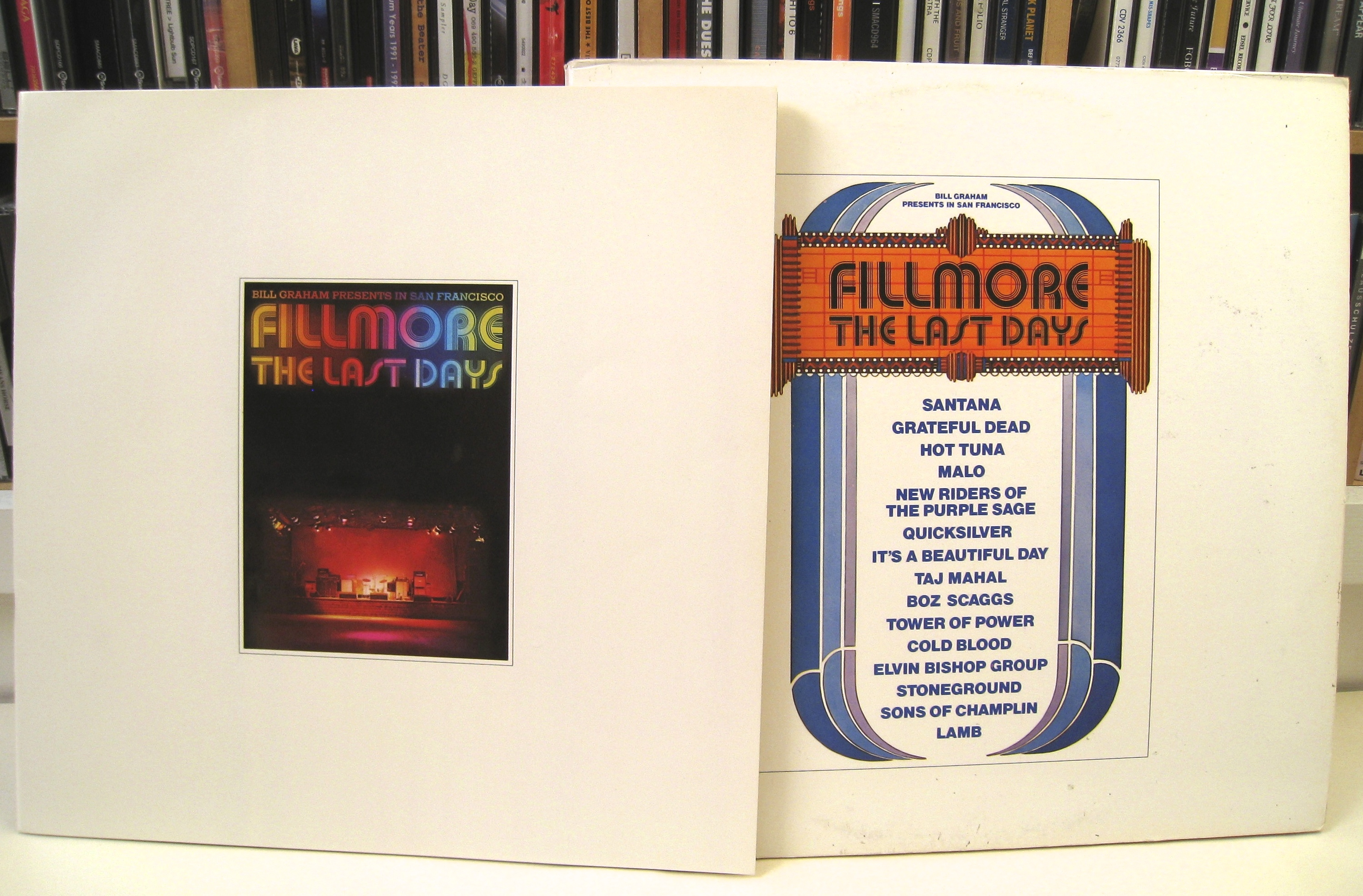There have been other 'in concert' triples featuring a variety of artists, including Last Days of the Fillmore (June 1972) and Sunbury 1973 – The Great ...