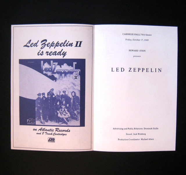 Led Zepp II Flyer