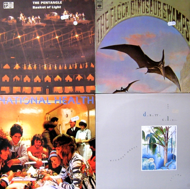 Four from Big Star.  A Pentangle upgrade, US pre-Mahavishnu Jerry Goodman (Flock), First Nat Health, 1984 Duritti Column