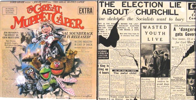 newspaper pair muppet