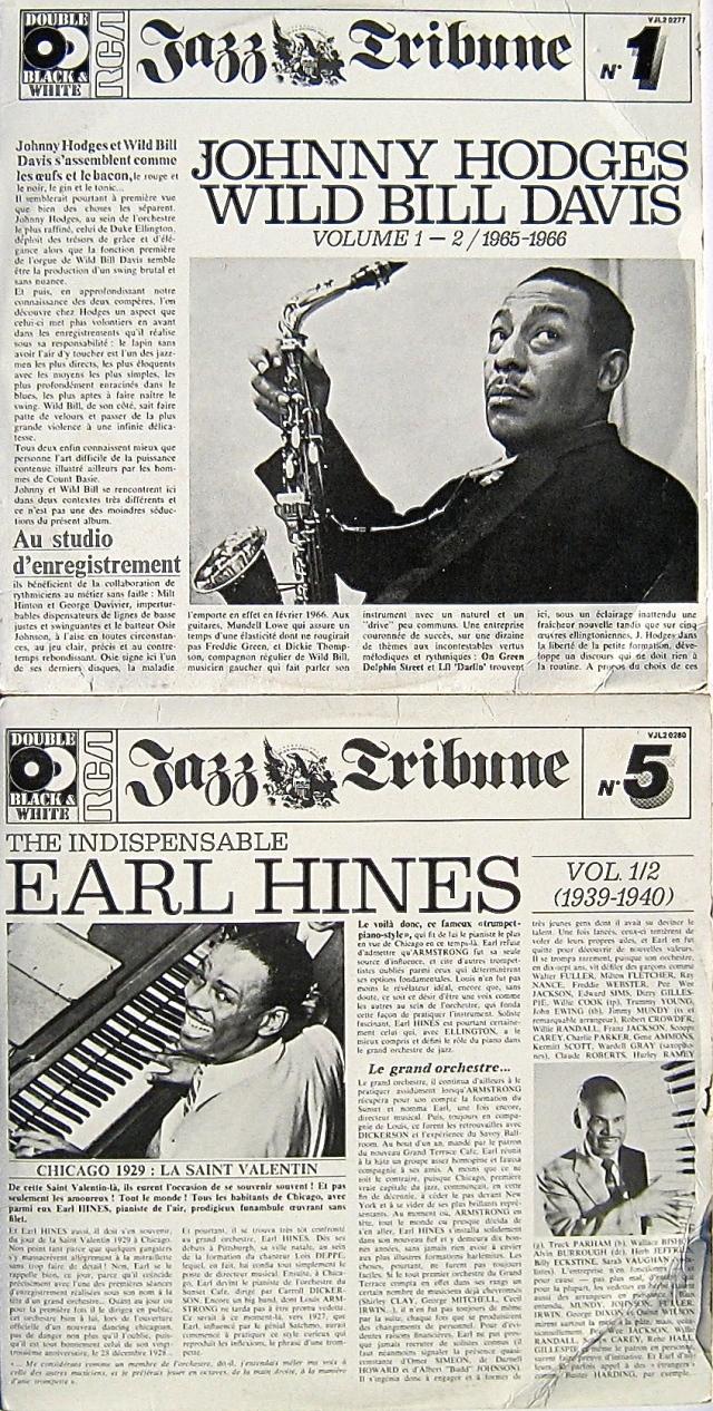 Jazz Tribune LP series