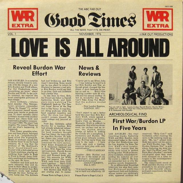 War = Love