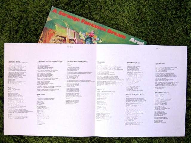 Ariel lyric sheet SFD