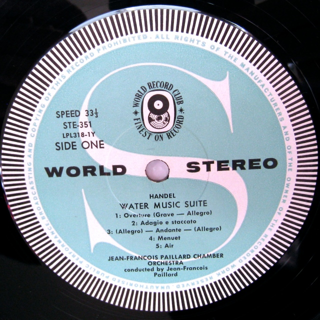 World Record Club label