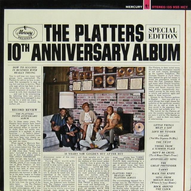 Platters 10th Anniv album