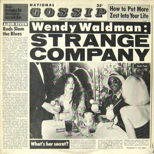 WENDY WALDMAN