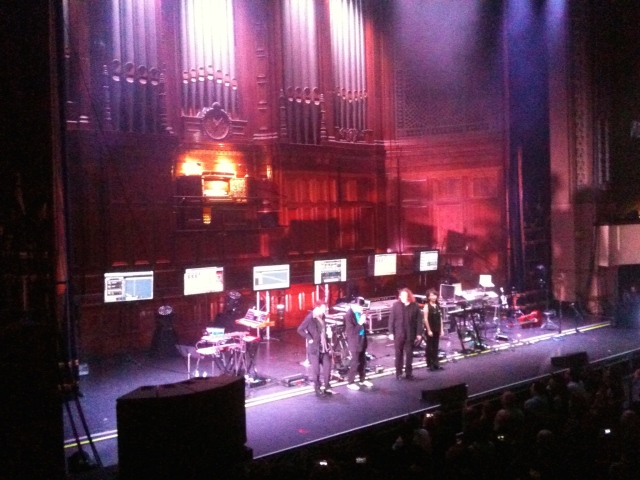 Tangerine Dream take a bow, Melbourne 16 November 2014