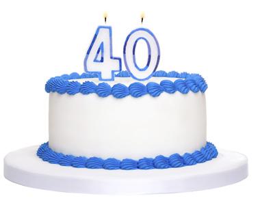 40-birthday-cake