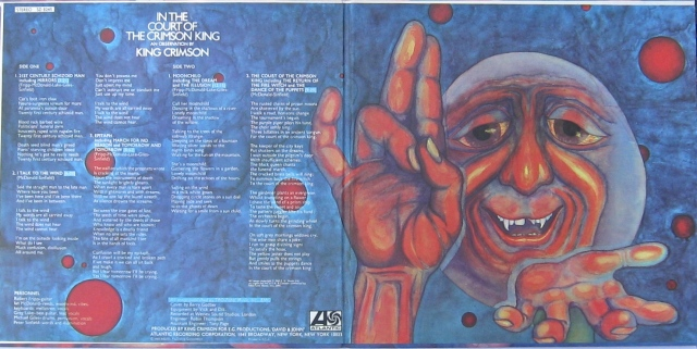 Court Crimson King gatefold