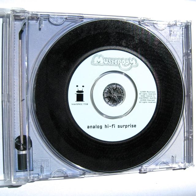 Mushroom CD Analog