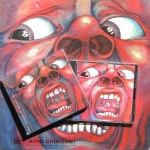 King Crimson court CD LP