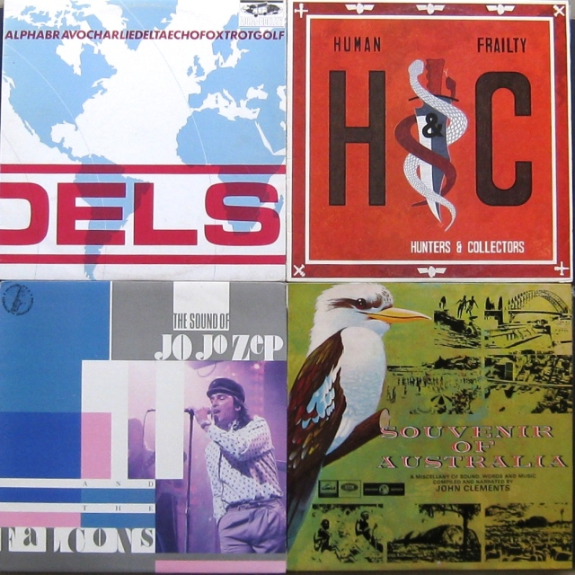 4 Aussie LPs