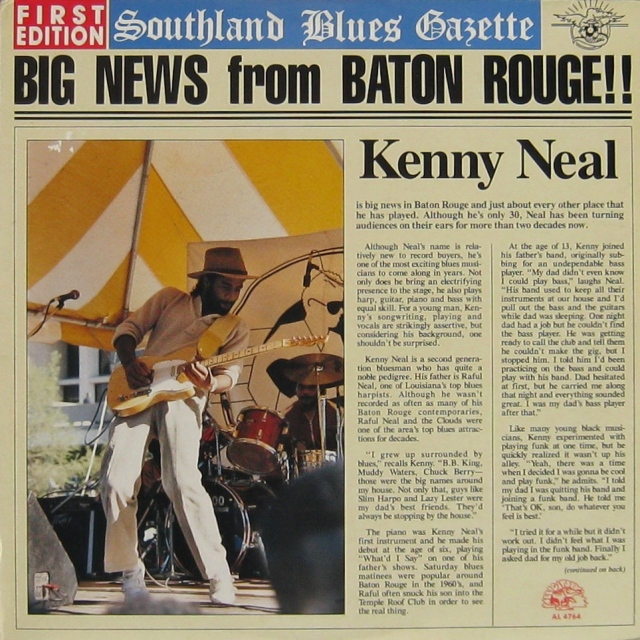 Kenny Neal Big News