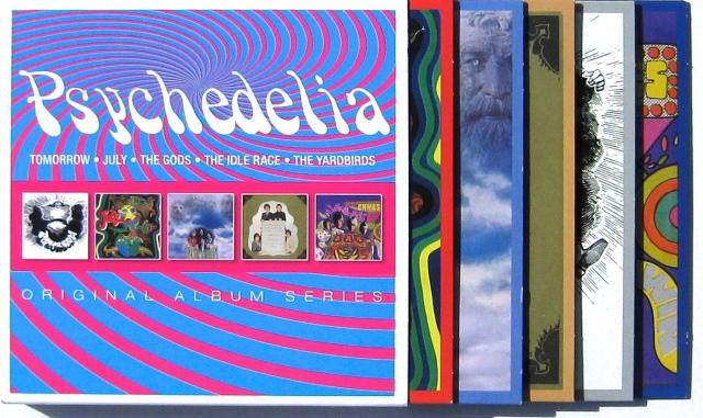 Psychedelia CD set Yardbirds