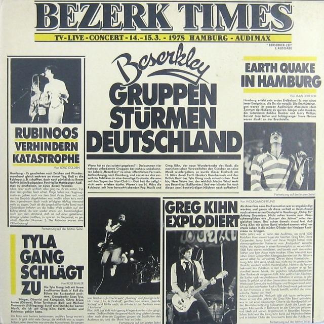 VA - Bezerk Times