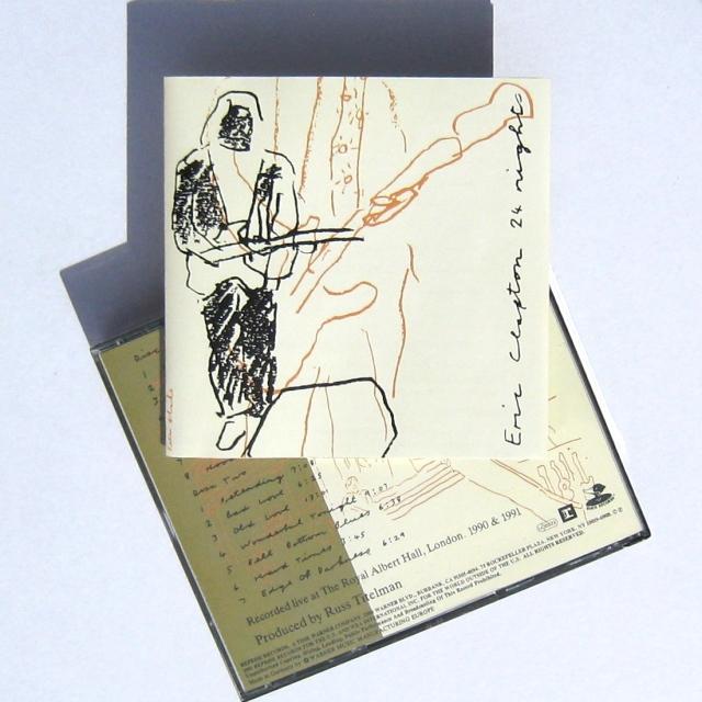 Eric Clapton 24 Nights CD