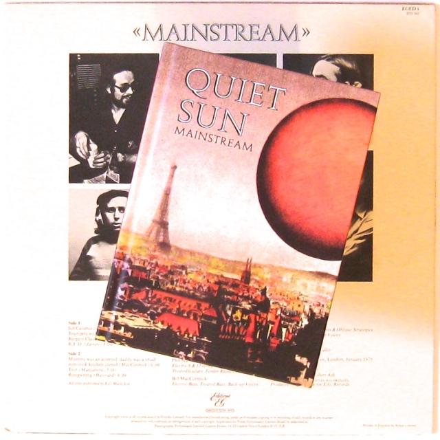 Quiet Sun CD re-issue