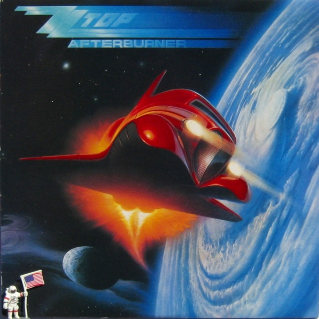 10 ZZ Top Afterburner + fig