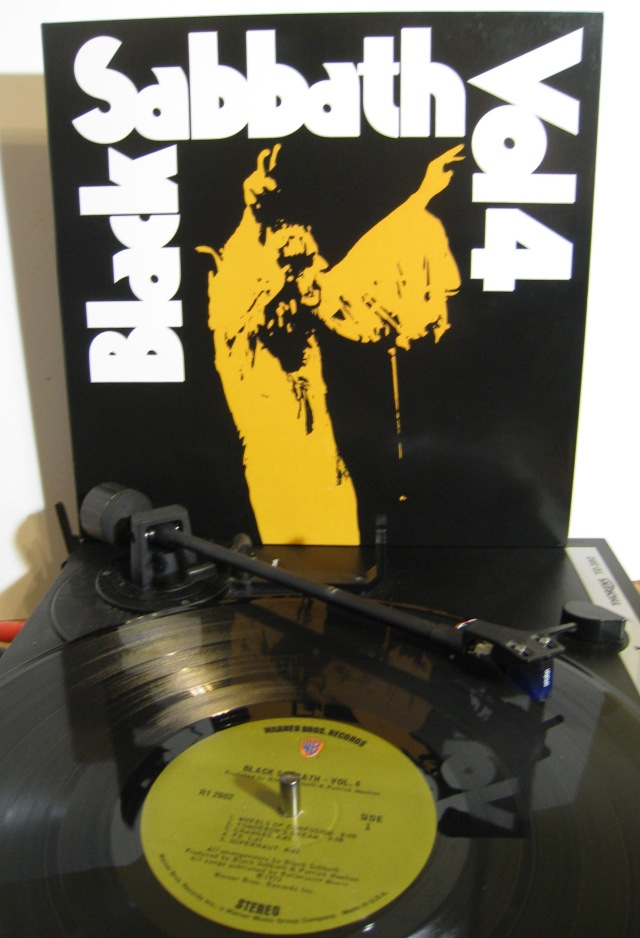Black Sabbath Vol 4 vinyl
