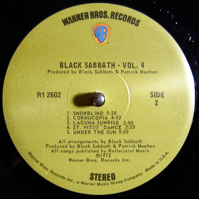 Vol 4 Label Side 2