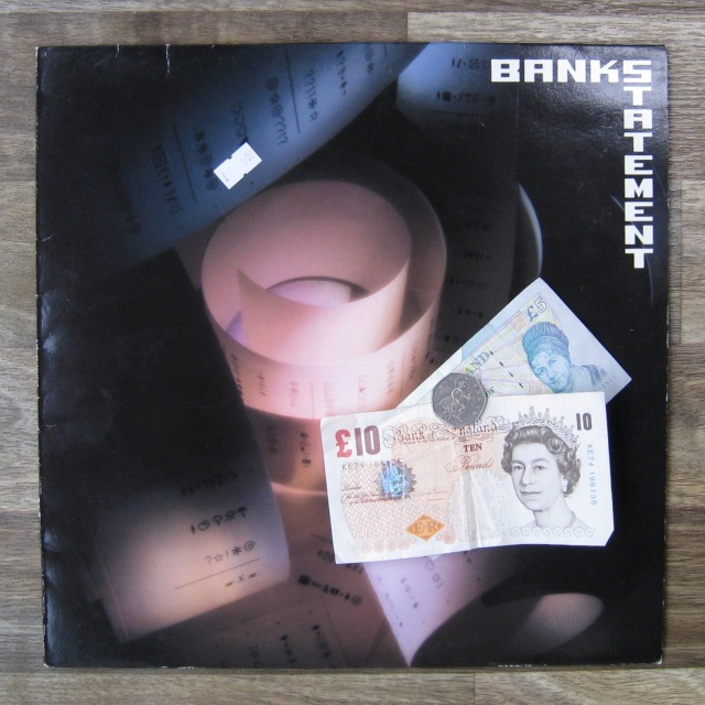 Tony Banks Bankstatement