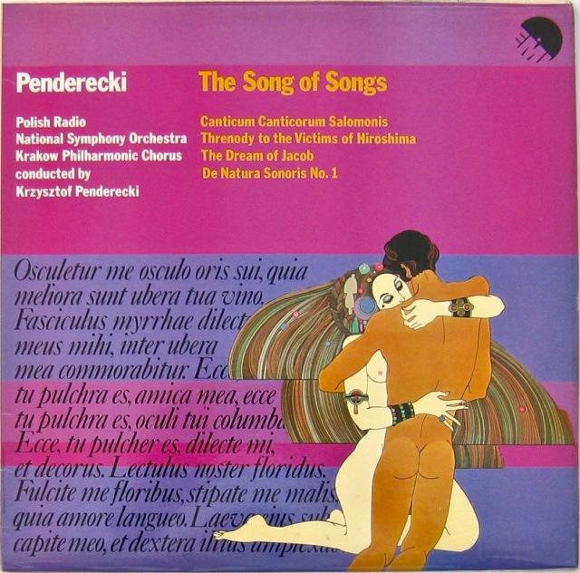 Penderecki Song of Solomon