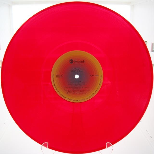 Aja Red vinyl