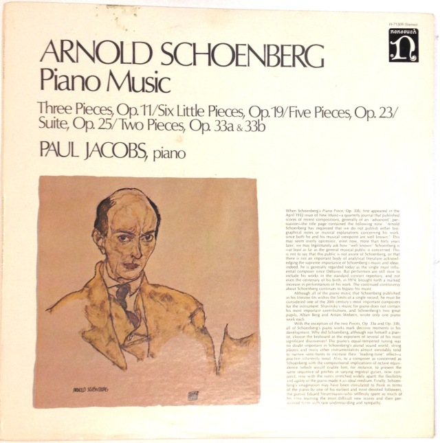 Schoenberg Piano Music