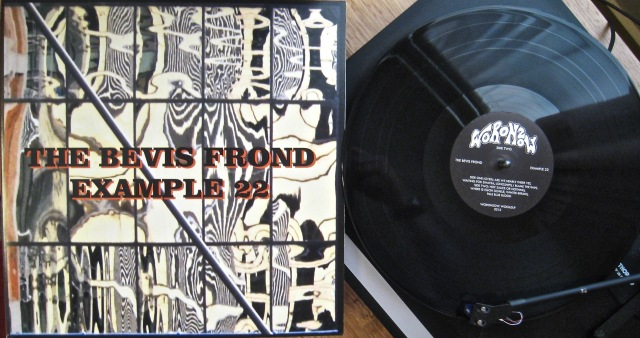Bevis Frond Example 22 vinyl turntable