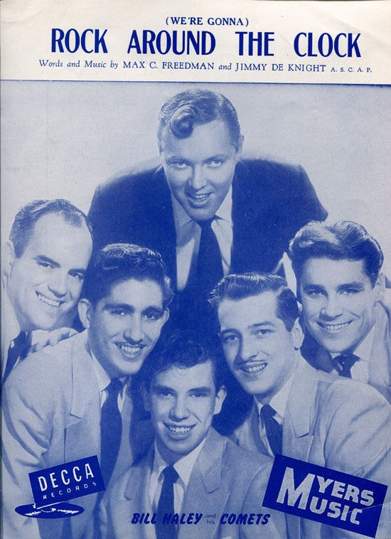 Bill Haley Rock Around the Clock sheet music