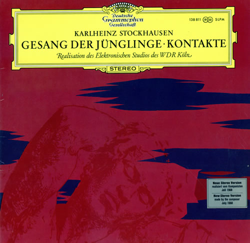 Stockhausen+Gesang+Der Jnglinge