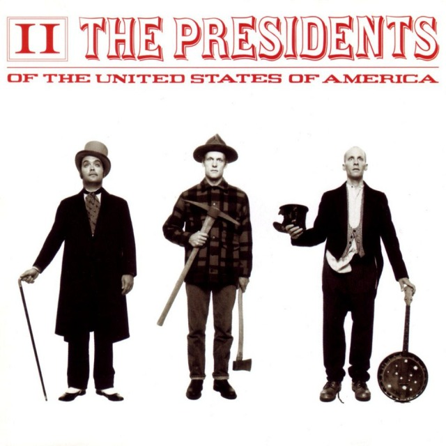 The Presidents of the United States of America - II (Columbia 1996)