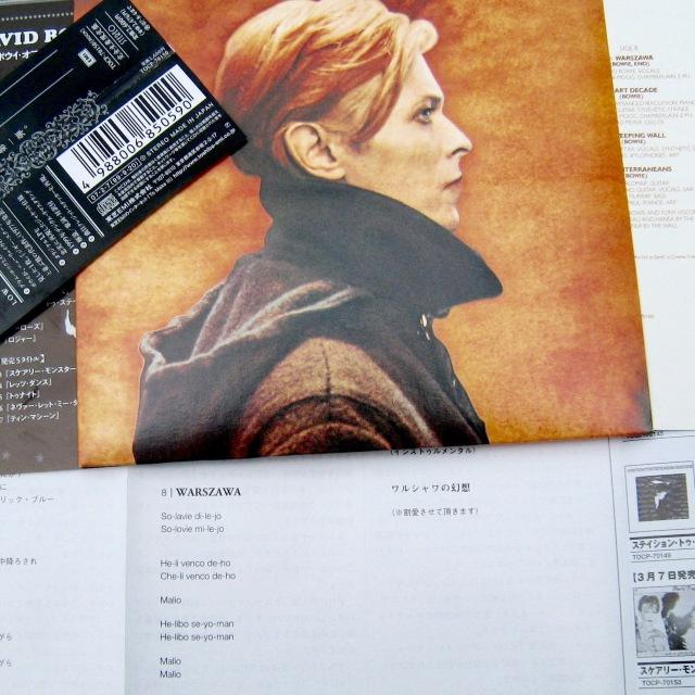 Bowie - Low Warszawa