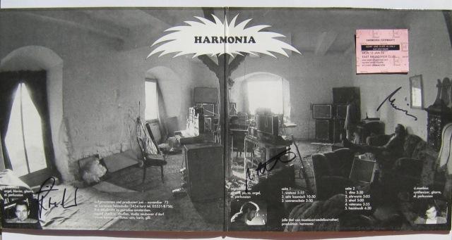 HARMONIA gatefold