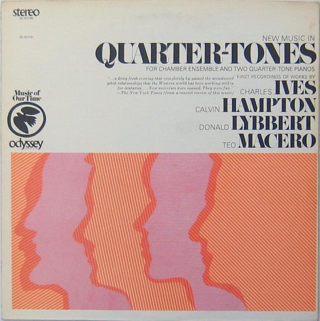Quarter Tone music Ives