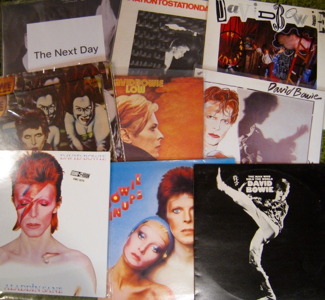 Bowie LPs