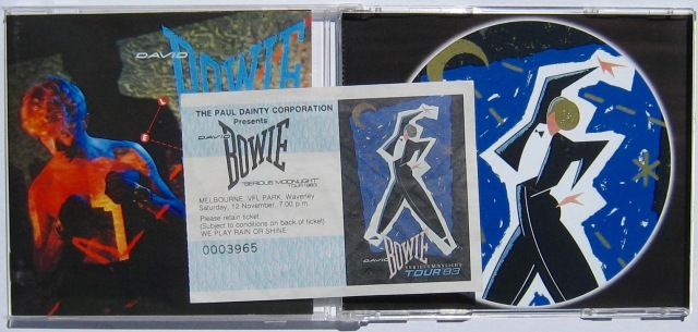 Bowie Serious Moonlight ticket