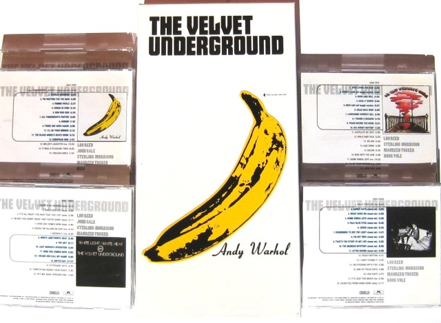 VELVET UNDERGROUND Peel Slowly and See Box set