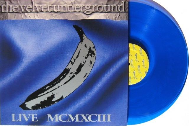 Velvet Underground MCMXCIII blue vinyl