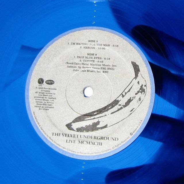 Velvet Underground blue vinyl
