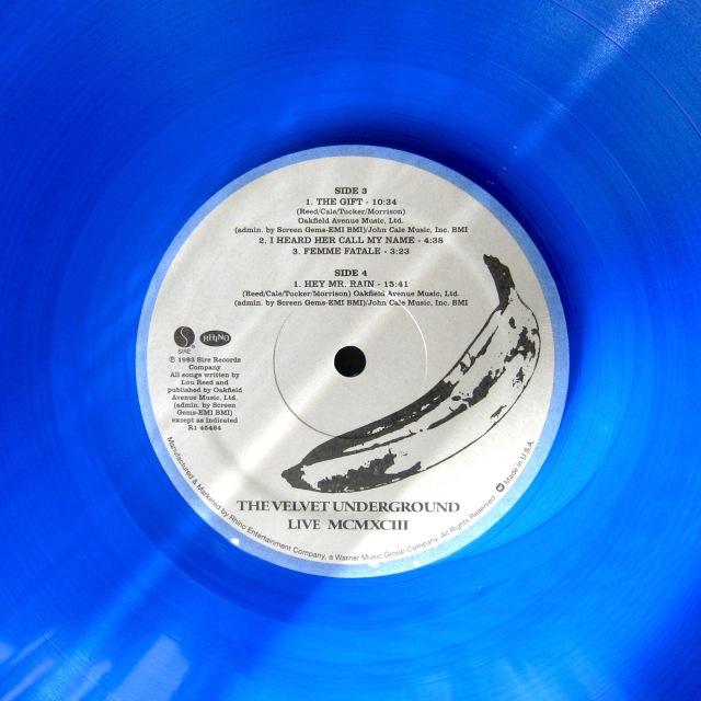 VU Live MCMXCIII blue vinyl