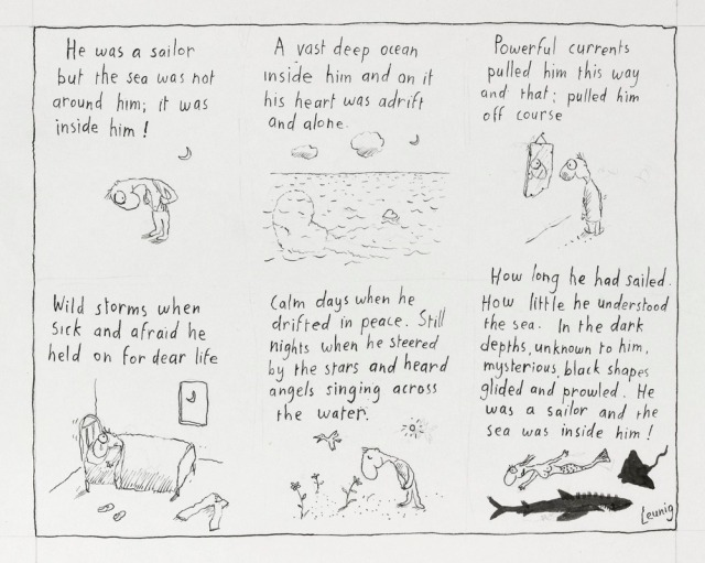 Leunig Sailor