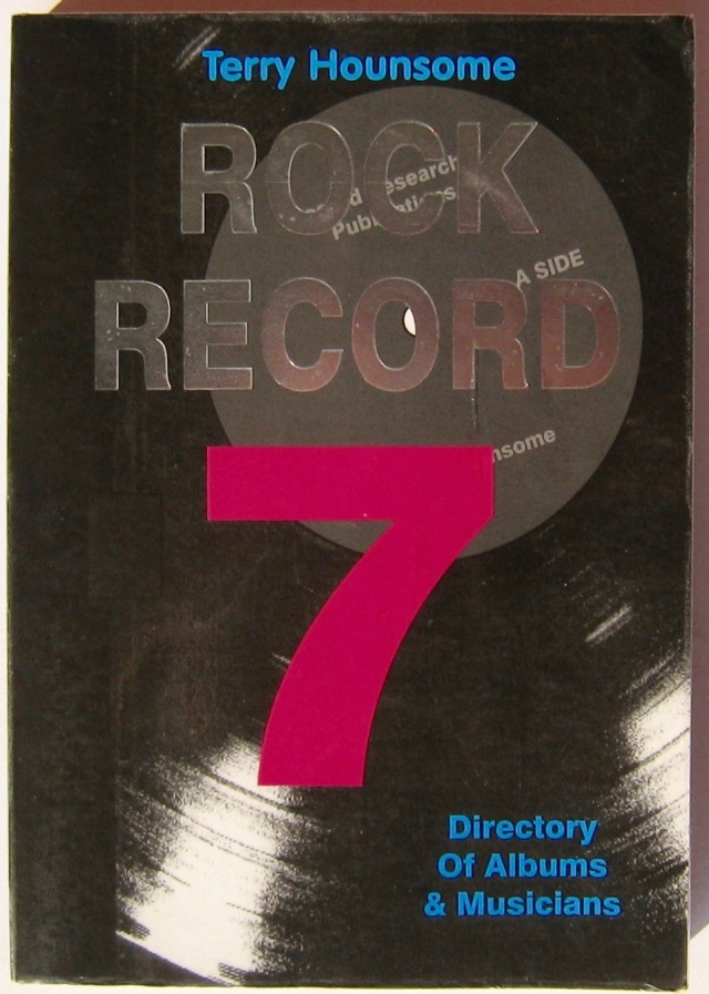 Terry Hounsome Rock Record 7