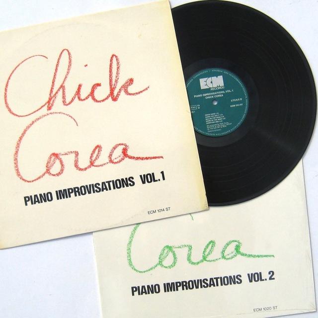Chick Corea Piano Improvisations Vol 1 & 2