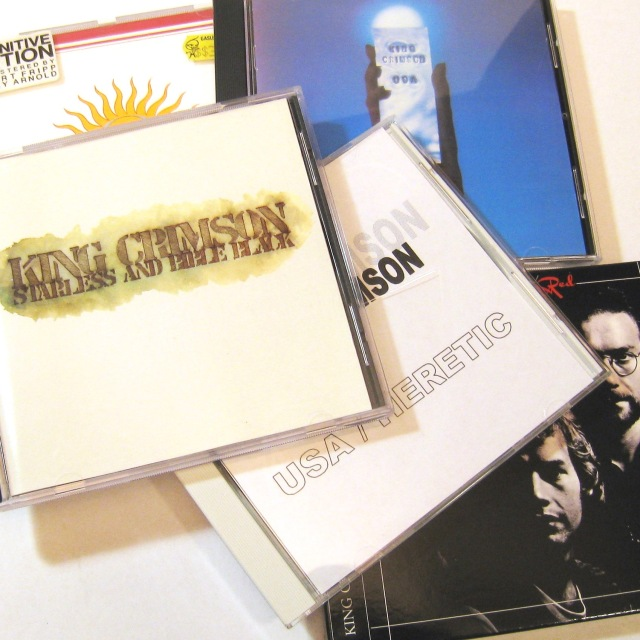 King Crimson CDs