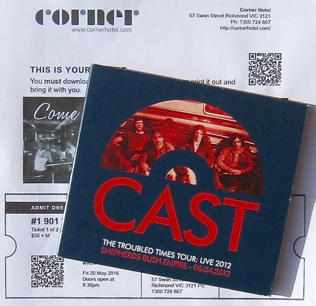 Cast Troubled Times Live CD