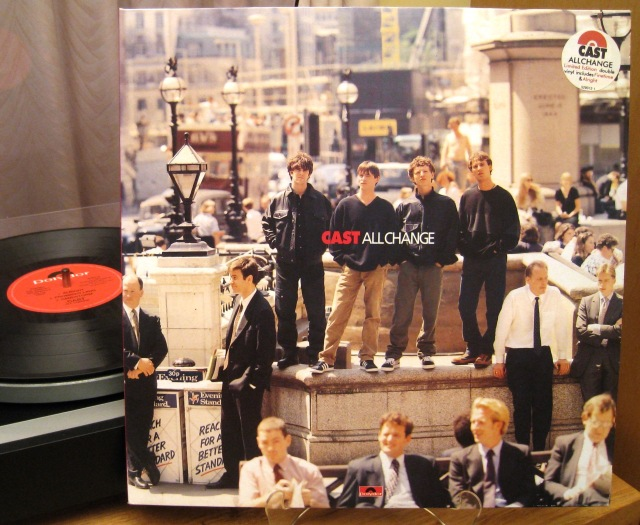 Cast All Change vinyl album