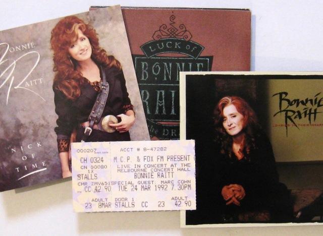 Bonnie Raitt CDs